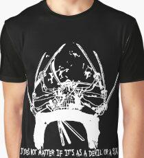 Asura Zoro Version White Graphic T-Shirt