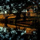 An old farmhouse and it's reflections by myraj