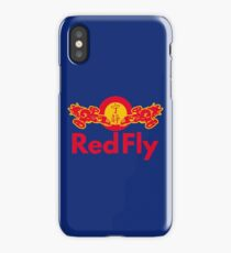 Red Fly iPhone Case/Skin