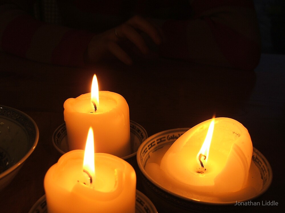 Candles by Jonathan Liddle