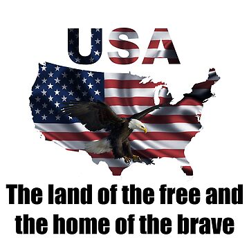USA : The Land of The Free and The Home of The Brave by amlpdiu