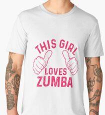 This Girl Loves Zumba Men's Premium T-Shirt