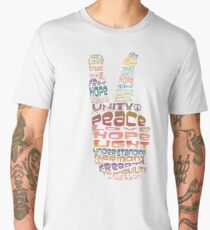Peace tshirts Men's Premium T-Shirt