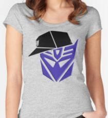 Decepticon G1 OG Transformer Women's Fitted Scoop T-Shirt
