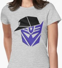 Decepticon G1 OG Transformer Womens Fitted T-Shirt