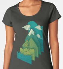 How to Build a Landscape Women's Premium T-Shirt