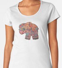 Vintage Elephant TShirt Women's Premium T-Shirt