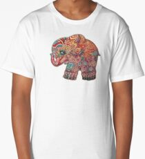 vintage elephant Long T-Shirt