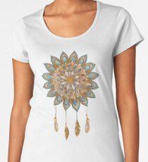 Golden Dreams Dreamcatcher Women's Premium T-Shirt