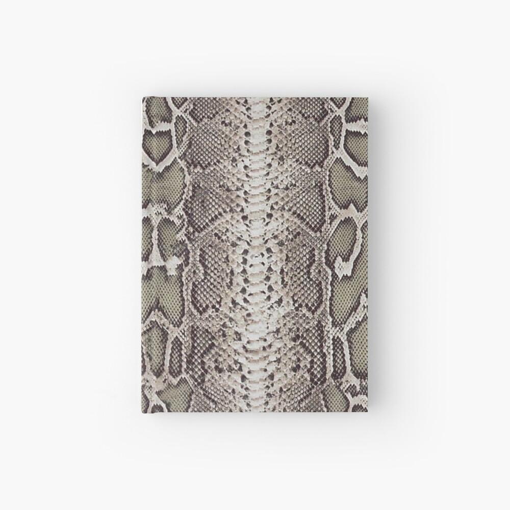 Schlangenhaut Notizbuch