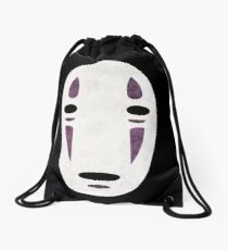 No Face Drawstring Bag
