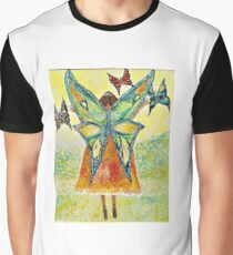 Butterfly Fairy Graphic T-Shirt