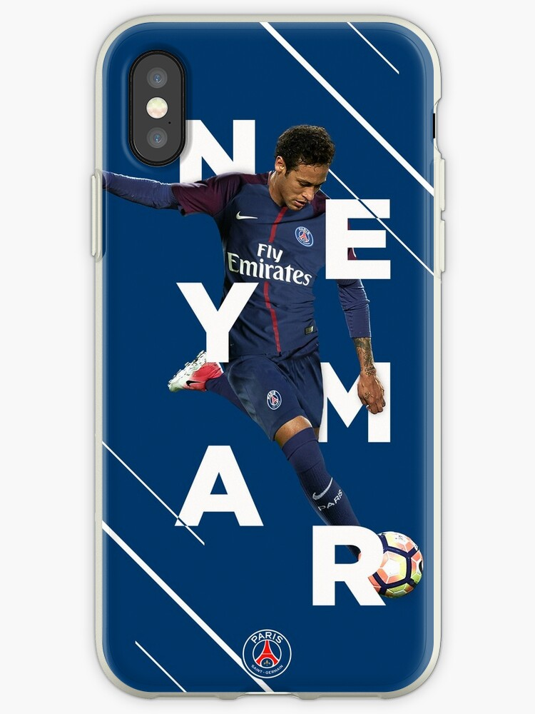 64390502677ed 'Neymar Jr. - PSG' iPhone Case by iamjasonpun