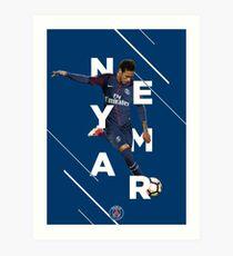 Neymar Jr.   PSG Art Print