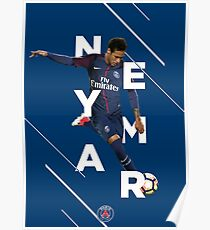 Neymar Jr. - PSG Poster