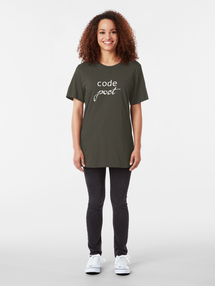 Alternate view of Code Poet Slim Fit T-Shirt