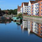 Bridgwater Reflections by kalaryder
