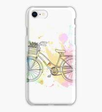 Beach Cruiser Bike iPhone Case/Skin