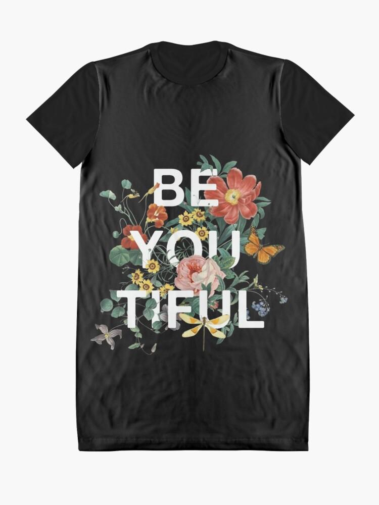 Alternative Ansicht von Sei Du Tiful T-Shirt Kleid