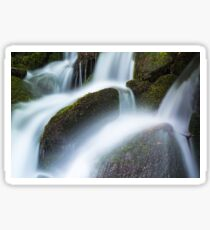 Flowing mountain stream Sticker