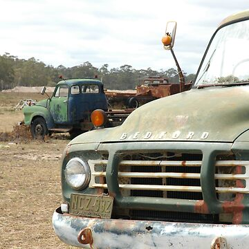 The Old Bedford Truck by ausco