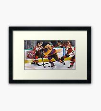 hockey! Framed Print