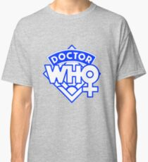 4th Doctor Logo with a Twist Classic T-Shirt