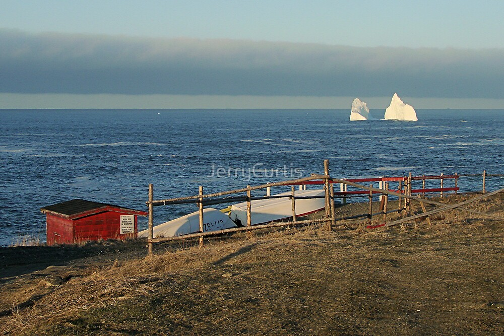 Pouch Cove Berg 2008 - 2 by JerryCurtis