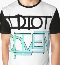Idiot Driven Graphic T-Shirt