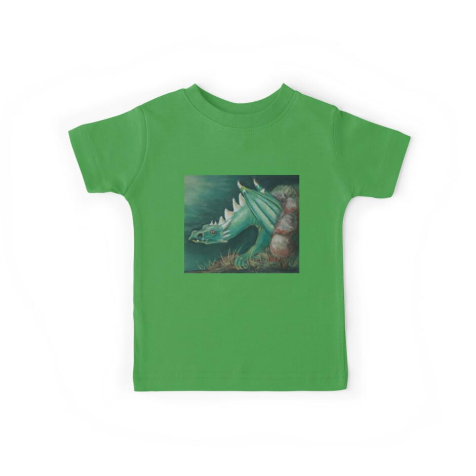 Forest Dragon T-shirt by Dianne  Ilka