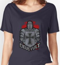 Deus Vult Crusader Women's Relaxed Fit T-Shirt