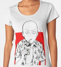 one punch man merchandise logo Women's Premium T-Shirt