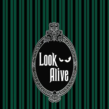 Look Alive - Green  by Mouse-Clique