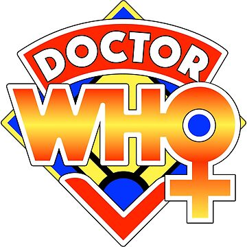 4th Doctor Logo with a Twist (in Color) by zenjamin