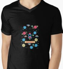 EXTERMINATOR Men's V-Neck T-Shirt