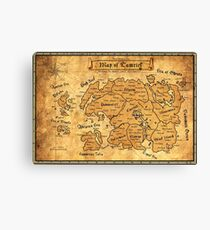 The Land Of Tamerial Canvas Print