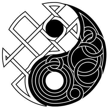 Yin Yang Celtic Knot by Thel0n