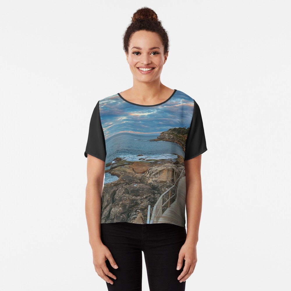 South Bondi Chiffon Top