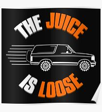 THE JUICE IS LOOSE Poster
