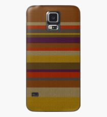 Fourth Doctor's Scarf Case/Skin for Samsung Galaxy