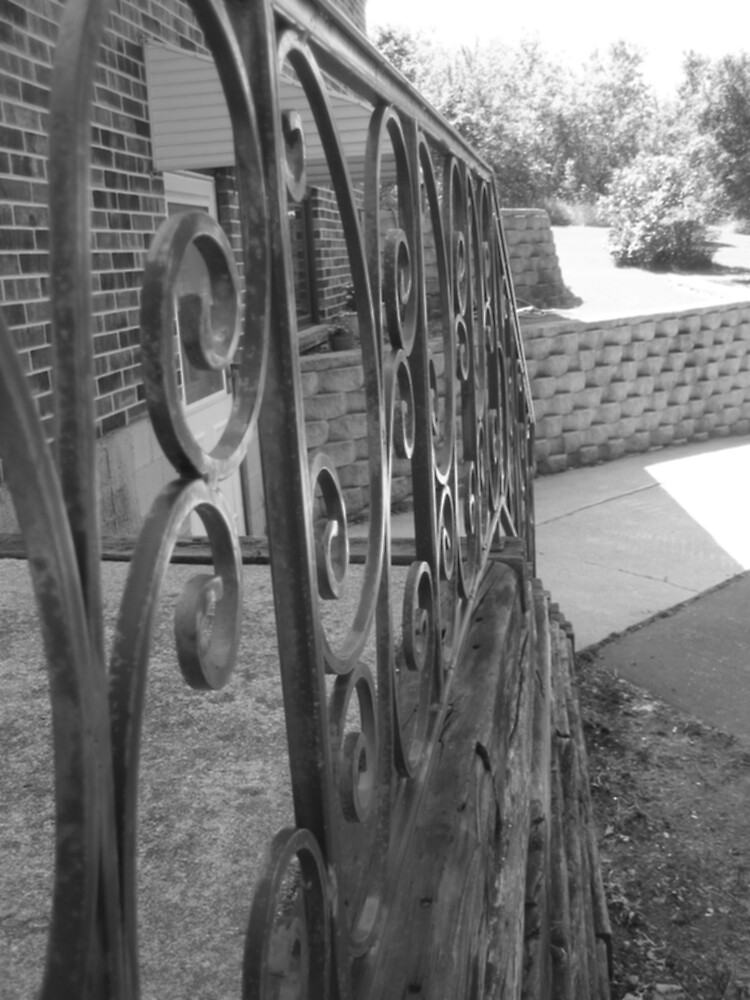 Iron Fence by AngryGoldfish