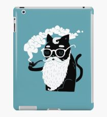 Whiskers And Pipe iPad Case/Skin