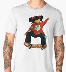 Skater Girl TShirt by Karin Taylor Men's Premium T-Shirt