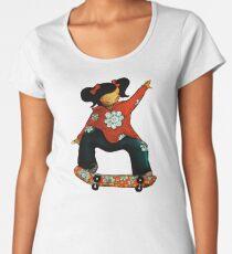 Skater Girl TShirt by Karin Taylor Women's Premium T-Shirt