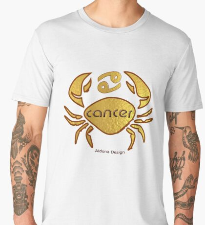Astrology :-Cancer Men's Premium T-Shirt