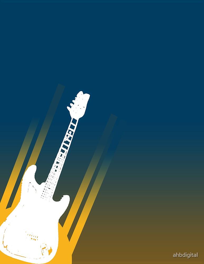 Flying Guitar by ahbdigital