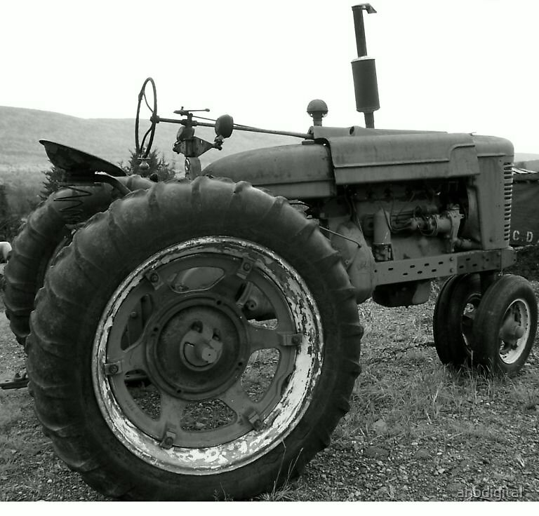Old Tractor by ahbdigital