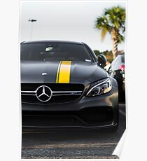 The Mercedes-AMG C 63 Coupé Edition Poster