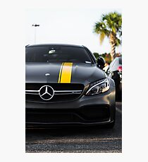 The Mercedes-AMG C 63 Coupé Edition Photographic Print