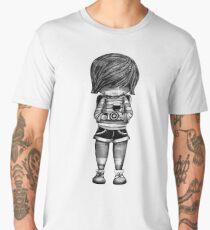 Smile Baby Photographer black and white Men's Premium T-Shirt
